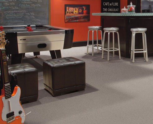 Carpet can turn any basement into a comfortable and inviting space