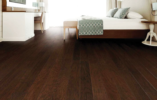 Engineered hardwoods look great, are warm underfoot, and help resist wear with their pre-finished topcoat