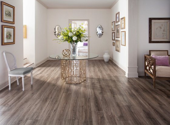 Laminate flooring works well in higher traffic areas of your home