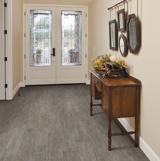 Ceramic and porcelain tile flooring are extremely tough and durable