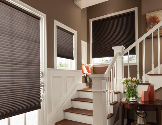 Choose window treatments from resilient fabrics to sturdy, quality construction on both blinds and shades