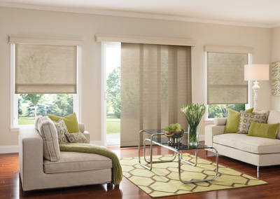 Choose window treatments not only for style, but also to help save energy