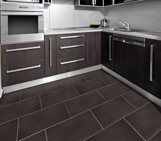 Ceramic and porcelain tiles are easy-to-clean, highly durable, and resistant to moisture, stains and soil