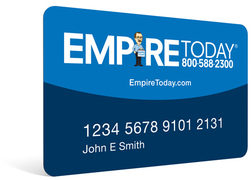 Empire Today Credit Card Financing Options