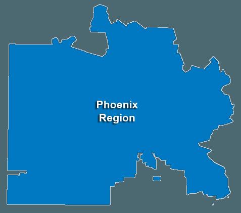 Phoenix Locations & Regional Map