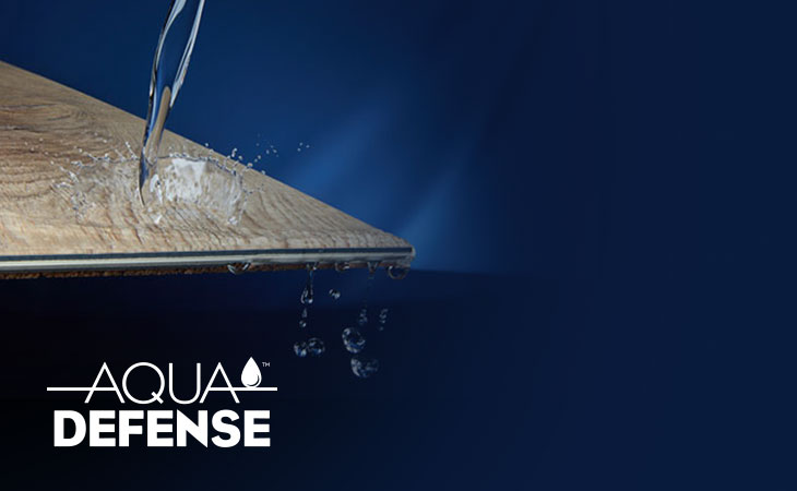 Aqua Defense waterproof flooring