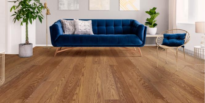 Deerfield WhisperHome flooring