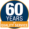 60 years of quality service