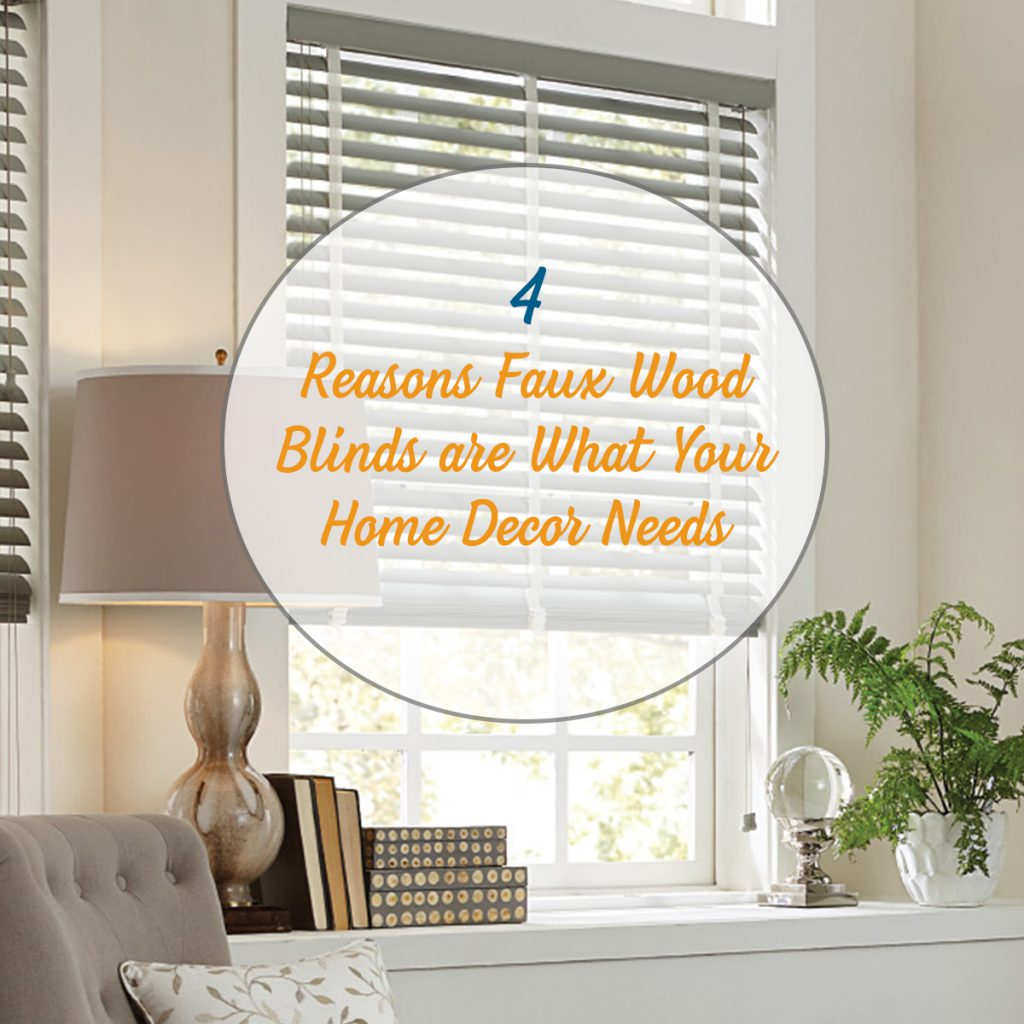 faux wood blinds for your home