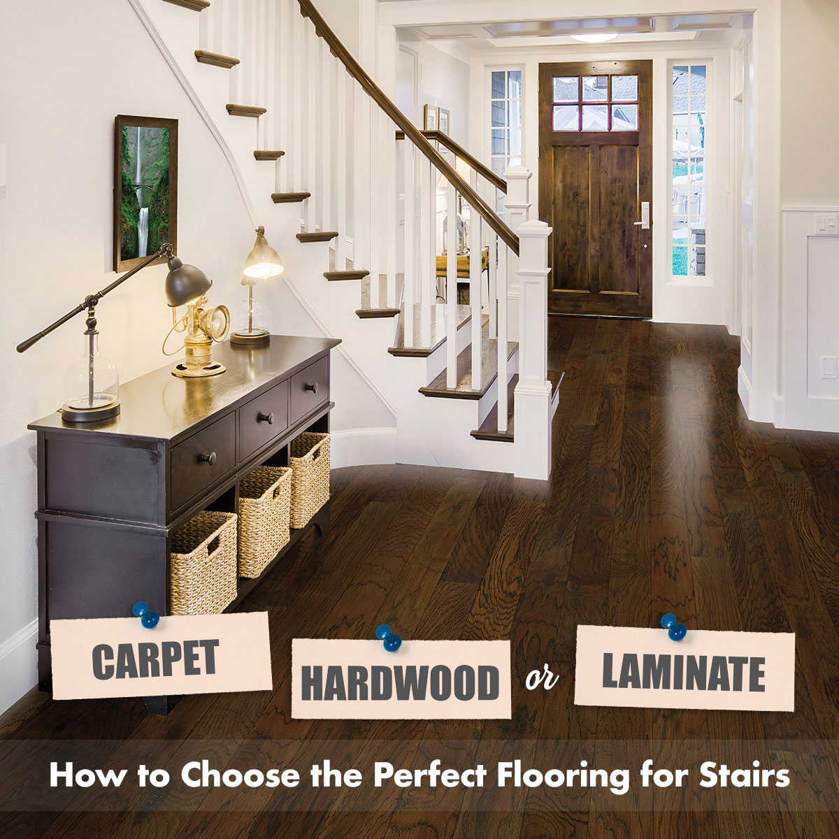 Choose The Perfect Flooring For Stairs