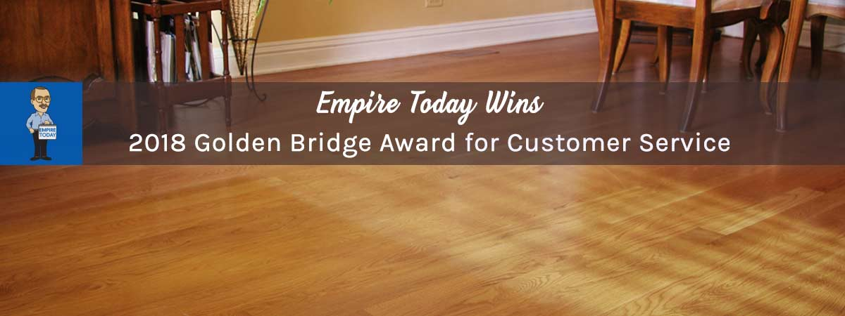 empire today wins golden bridge award