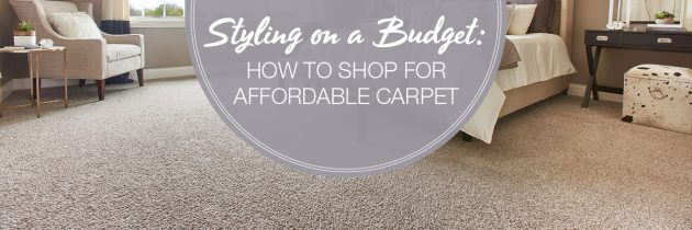 Styling on a Budget: How to Shop for Affordable Carpet
