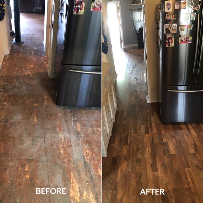 Le Wood Laminate Flooring Gives