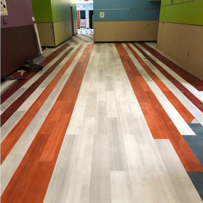 Commercial Vinyl Plank Flooring Helps Charter School Receive