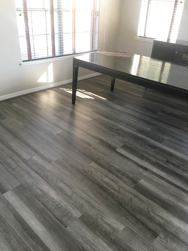 Florida Home Gets Brand New Vinyl Plank Flooring From