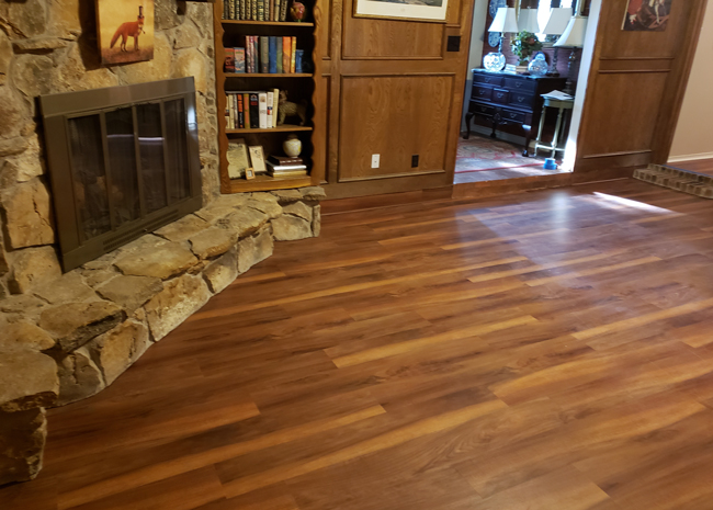 Texas Home Gets A Big Change With New Vinyl Plank Flooring