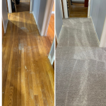 Featured Image: Hardwood flooring before and carpet after