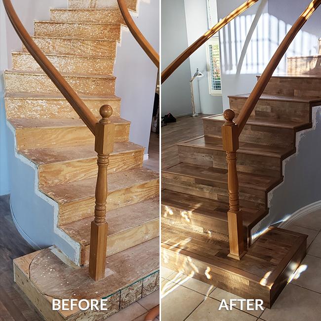 Laminate Wood Flooring Empire Today, Laminate Flooring On Steps