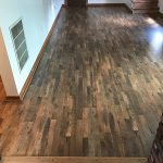 wood laminate flooring in living room