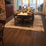 engineered hardwood flooring in home