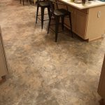 vinyl tile flooring in home