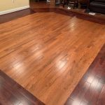 solid hardwood flooring in home