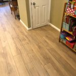 Feature Image: laminate flooring in the hallway