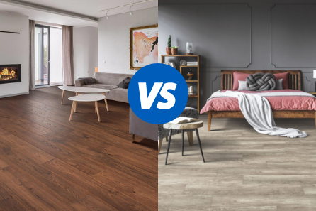 The Difference Between Vinyl Laminate, What's The Difference Between Laminate Flooring And Vinyl Plank Flooring
